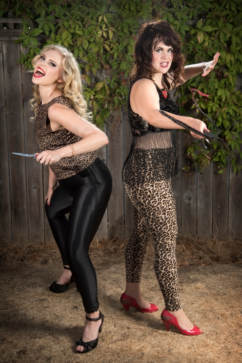 Dee Dee Pepper and Wanda Bones. (photo by Casey Campbell Photography)